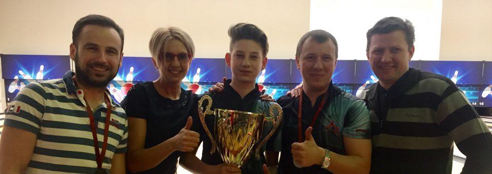 Par 4 kārtējiem Klubu kausa uzvarētājiem kļūst klubs Ten Pin