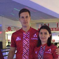 Jānis Zemītis un Marija Tkačenko Eiropas Čempionu Kausā 2017 izcīna 28 vietu